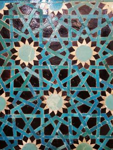 Inlaid panel detail, Turkish and Islamic Arts Museum, Istanbul