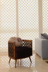Arabesque modern armchair