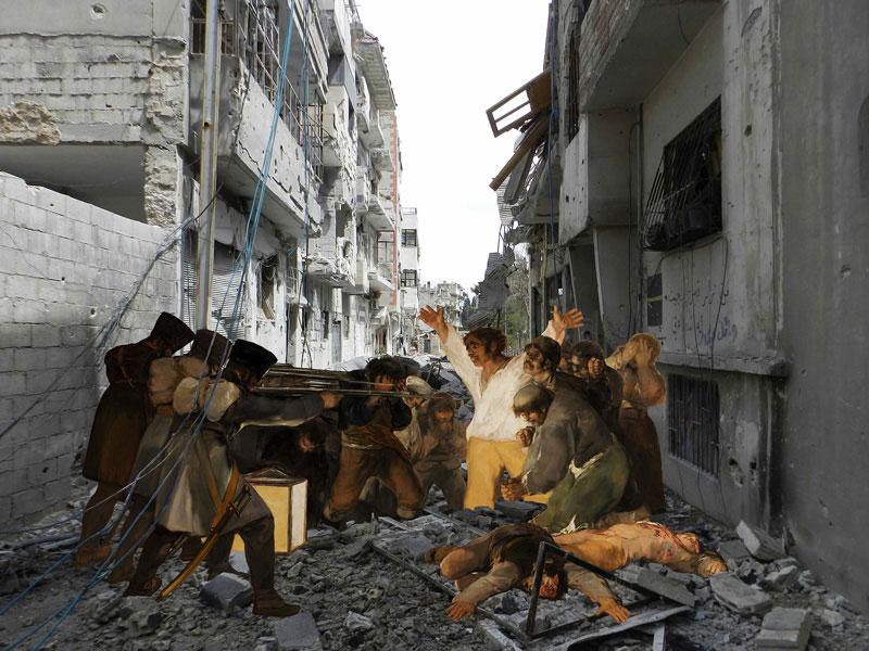 The Syrian Museum: Goya