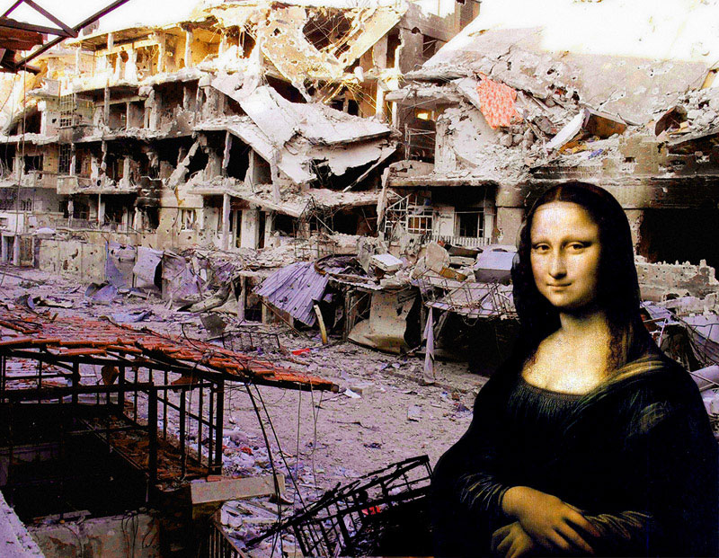 The Syrian Museum: Mona Lisa